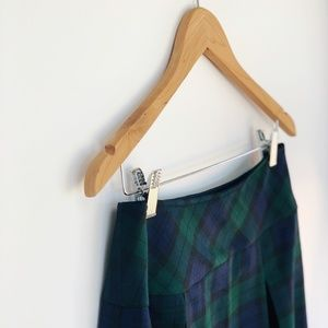 PENDLETON ORIGINALS black watch tartan skirt sz 10